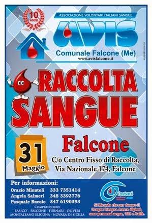 Domenica 31 MAGGIO 2015 dalle ore 8.00 alle 12.00 CENTRO FISSO DI RACCOLTA - FALCONE