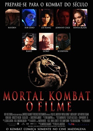 Mortal Kombat Blu-Ray Filmes Torrent Download capa