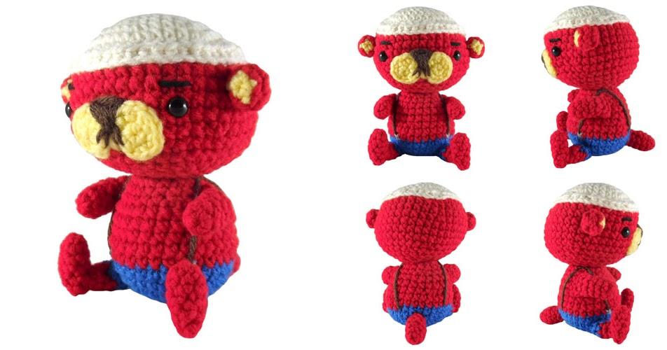 i crochet things: Free Pattern: Pascal the Otter Amigurumi