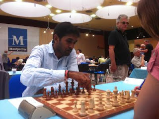 Ronde 7 : le maître international M.S. Thejkumar - Photo © Chess & Strategy