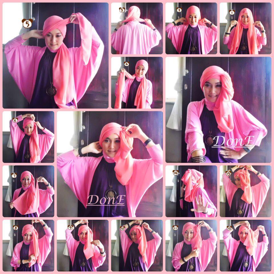 Sepatu 2016 Cara Memakai Jilbab Kreasi Terbaru 2015 Images