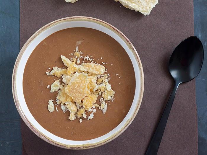 crema al cucchiaio cioccolato e caffè
