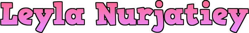 ♥ leyla nurjatiey ♥