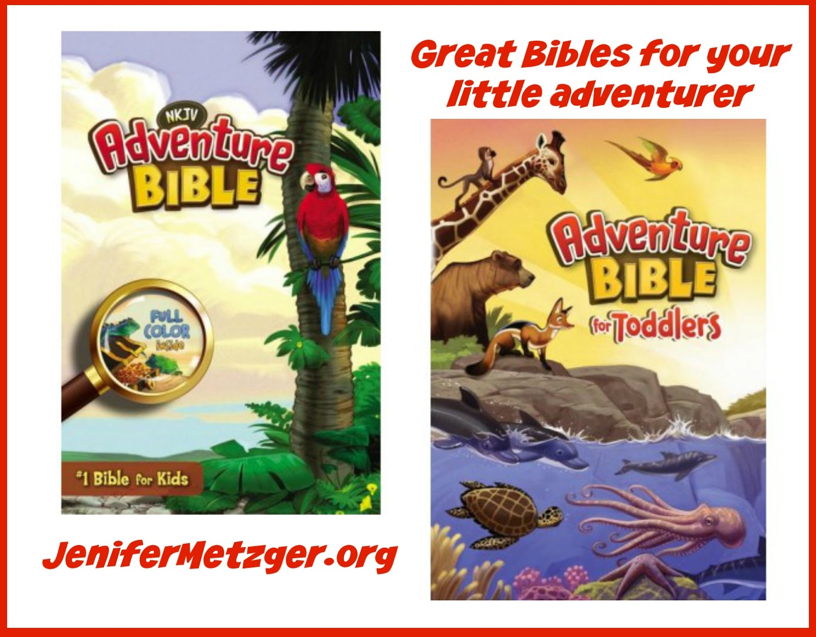 Great Bibles for your little adventurer. #kidsBibles #Bibles #parenting #children