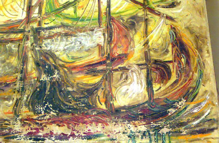 dan masih banyak lagi koleksi lukisan Affandi yang tersebar baik di ...