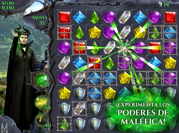 MALEFICENT-FREE-FALL-DISNEY-GIRO-MALÉFICA-JUEGOS-MATCH-3-ONLINE-2014