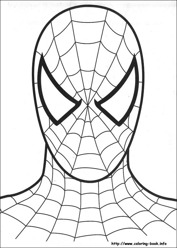 ภาพระบายสี Spiderman Spiderman Coloring pages title=
