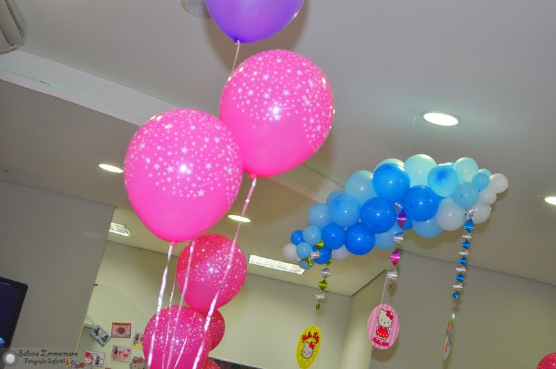 Fabuloso Festinha da Hello Kitty - Decoração TK79