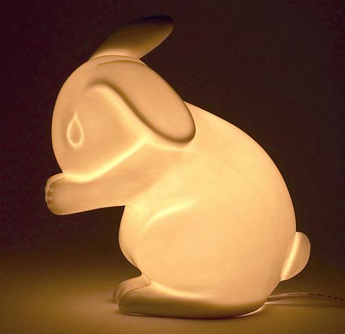 Nine Cool Things Rabbit Lamps