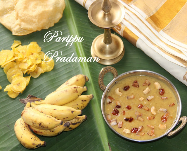 Parippu Pradaman