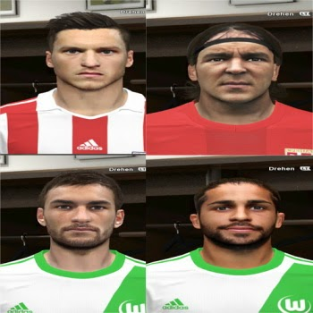PES 2014 Mix Facepack 1 by Rednik