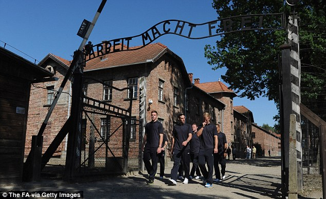 On emotional tour of harrowing nazi concentration camp at auschwitz