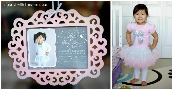 Princess Ballerina Birthday Party Decorations