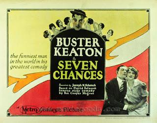 Seven Chances di Buster Keaton: proiezioni cinematografiche in Auditorium San Fedele a Milano