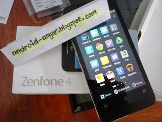 FOTO unbox asus Zenfone 4 A400CXG terbaru ZenUI