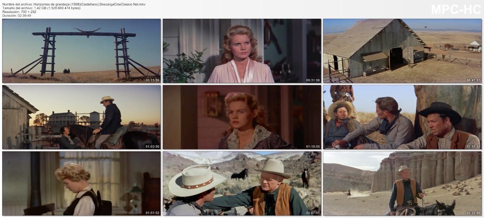 Horizontes de grandeza (1958 - The Big Country)