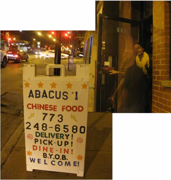 What do i know abacus 1 for Abacus cuisine of china