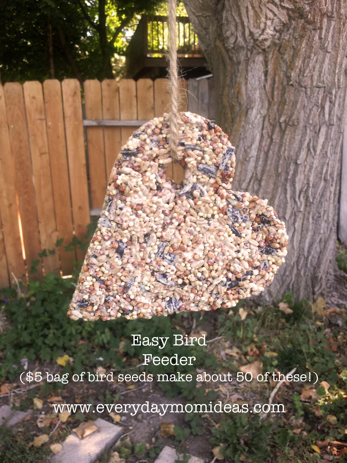 Easy Bird Feeder Craft
