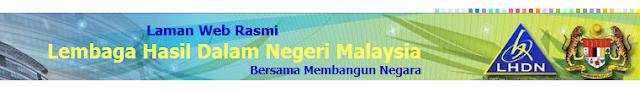 Banner (short) Lembaga Hasil Dalam Negeri LHDN Inland Revenue Board Of Malaysia IRBM
