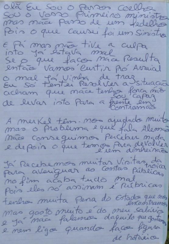 Maios: poema satirico a Passos Coelho