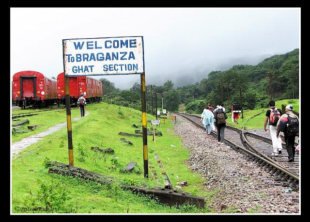 Braganza ghat rail track