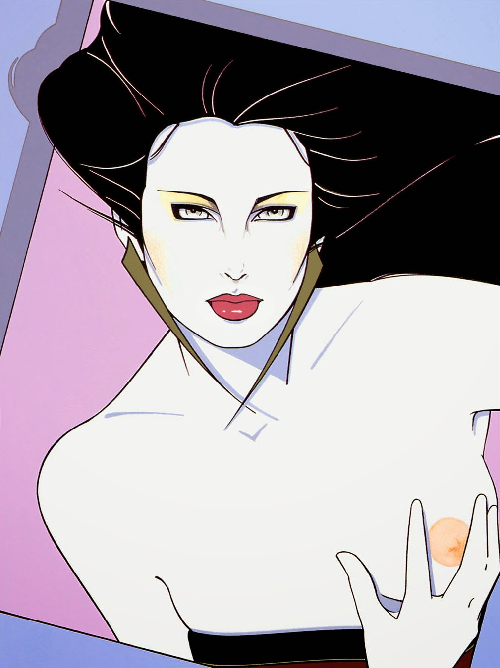Fantasy Portrait Photography additionally House E 1027 By Eileen Gray Illustrated By Josephin Ritschel furthermore ThsKmR4y5AXFEkJM also Patrick Nagel further Psychedelic Background. on surreal art