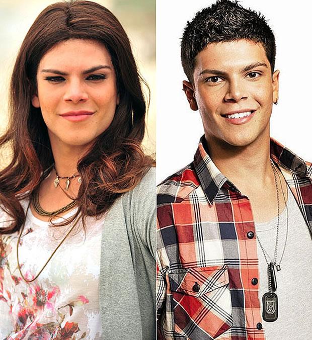 O ator Murilo Armacollo, que veio do teatro, estreia na Globo na pele da transexual Julie em 'O Brado Retumbante' (Foto: João Miguel Jr./Tv Globo)