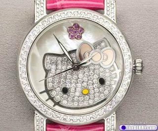 jual jam tangan hello kitty murah
