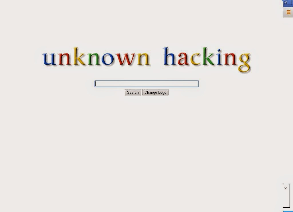 unknown hacking how to change google logo into your name
