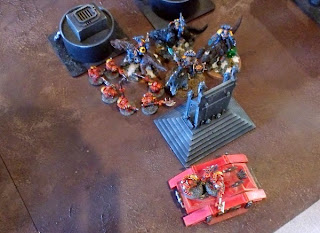 40k SW+IK vs Squat - charge or be charged