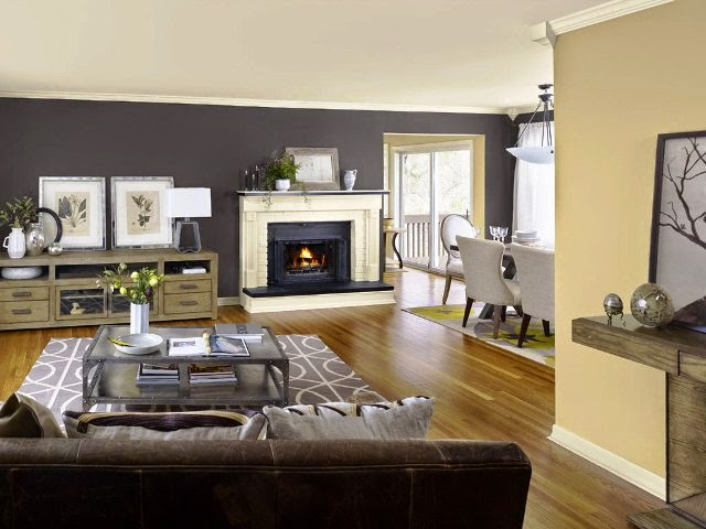 Neutral interior paint color ideas for Neutral family room paint colors
