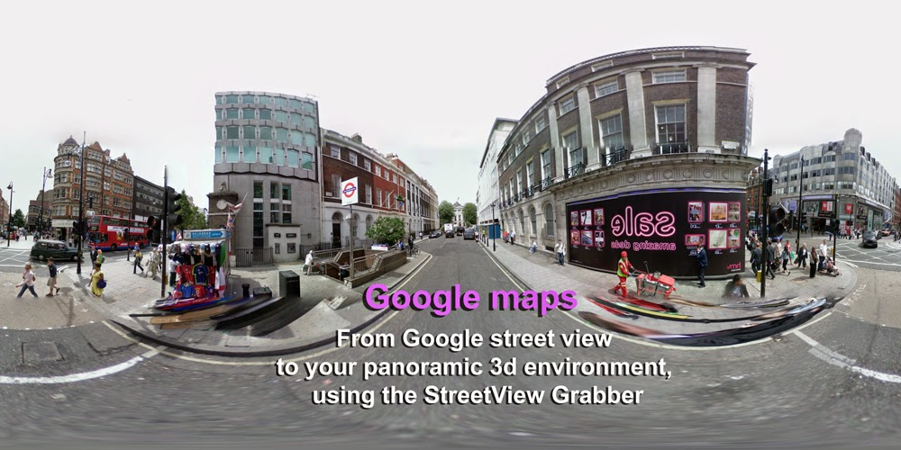 From Google Maps Street View To Your D Environment - Google earth street view