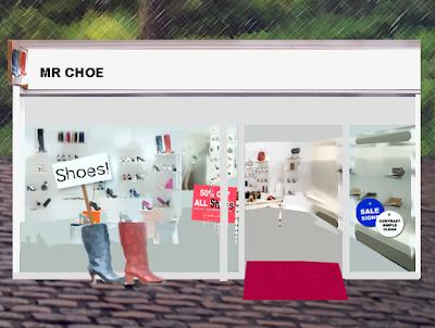 shoe storefront