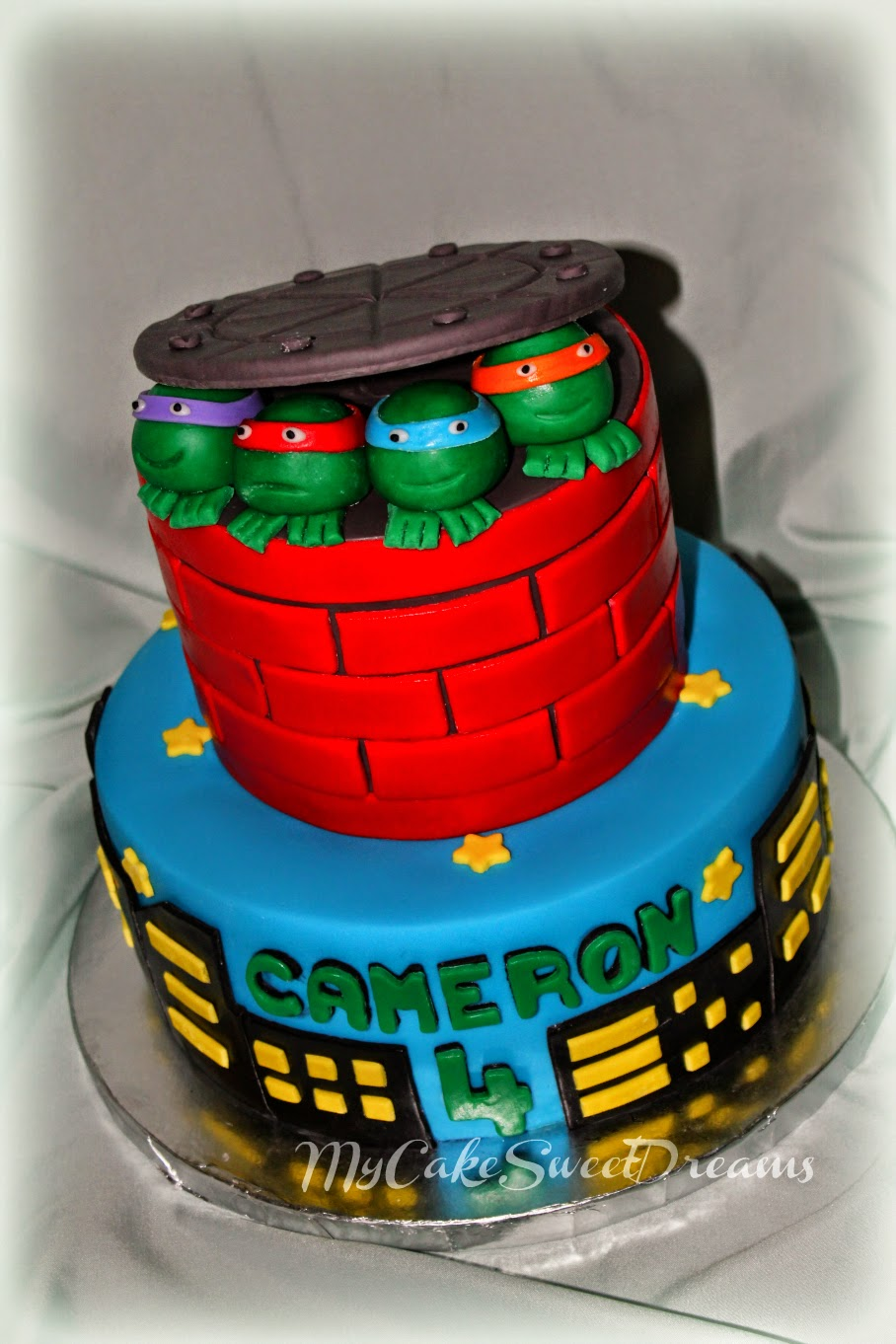 My Cake Sweet Dreams Ninja Turtles Birthday Cake