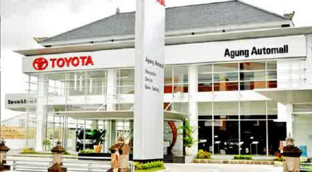TOYOTA Agung Toyota Kuta, Alamat : Jl. Sunset Road, Seminyak, Kuta 80361