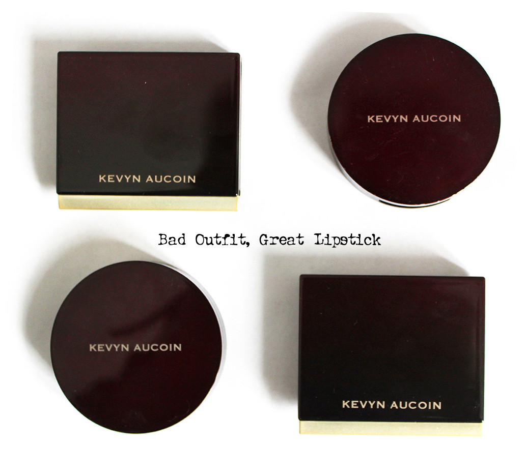 Bad Outfit, Great Lipstick: Obsessed: Kevyn Aucoin Creamy Moist Glows
