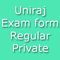 Uniraj Regular Student Online Application 2015-16