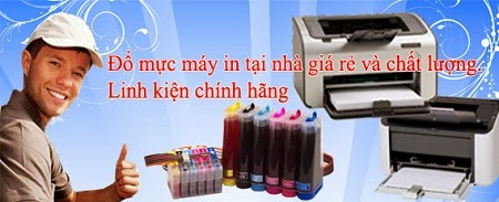Đổ mực máy in tại nhà giá rẻ nhất Hà Nội