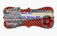 Quirky Crafts Award June 2014
