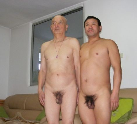 asian older men nude