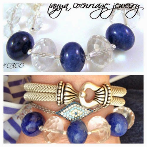 Sodalite Gemstone Gobstopper Bracelet