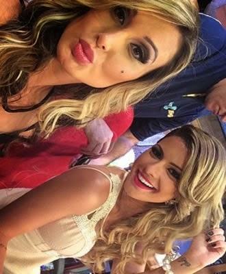 Ex-panicat Babi Rossi deixa programa de TV após descobrir que salário de Andressa Urach é maior que o seu