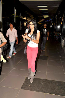 Sherlyn Chopra spotted at the airport stills