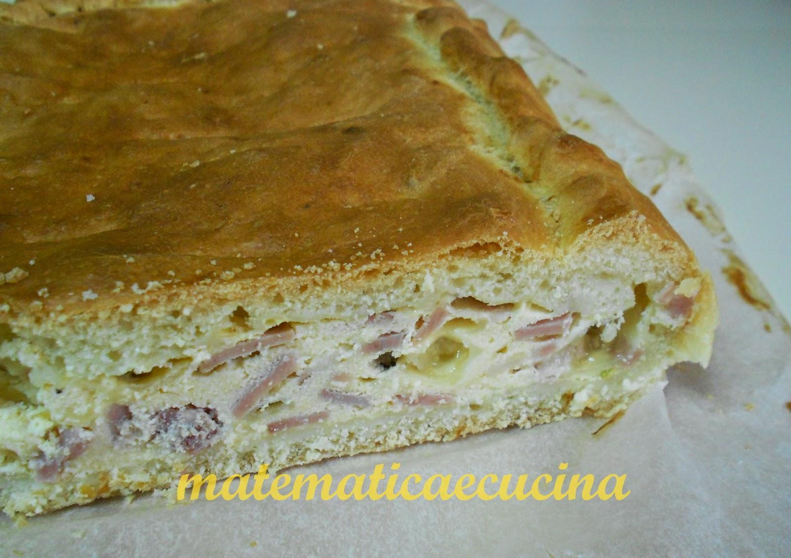pizza chiena- torta ripiena di pasqua