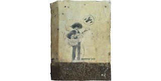 Mariachi Player, 2001 by Banksy graffiti art