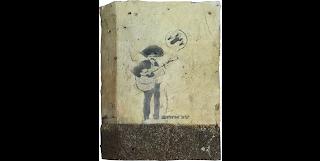 Mariachi Player, 2001 by Banksy graffiti art