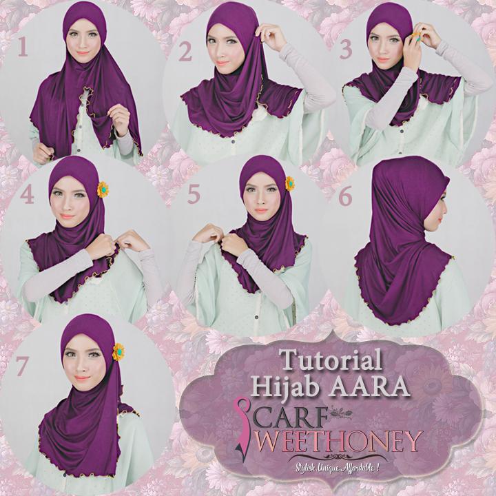 Tutorial Cara Memakai Jilbab, Mudah, Cantik dan Modern
