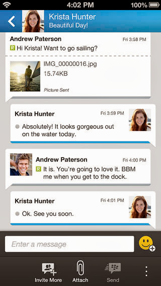 BBM v1.0.0.67 for iPhone