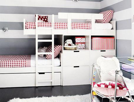 Literas decoracion y manualidades - Habitaciones con literas juveniles ...