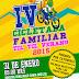 IV CICLETADA FAMILIAR TILTIL VERANO 2015